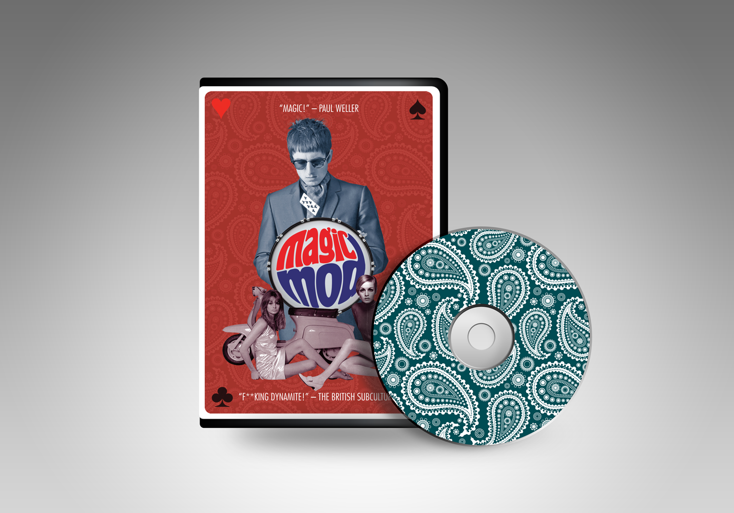 THE MAGIC MOD DVD